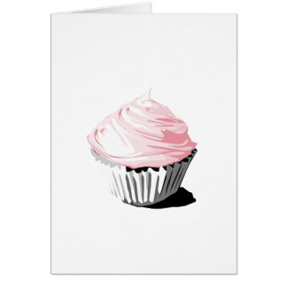 Pink vector cupcake template products