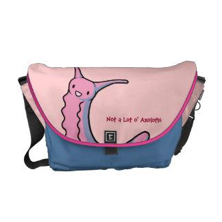 Pink Velvet Worm Messenger Bag