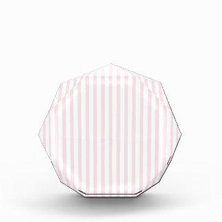 Pink Vertical Stripes Acrylic Award