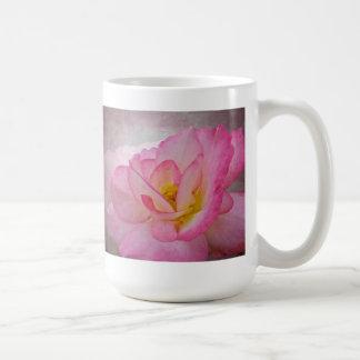 Pink Victorian Rose Coffee Mug