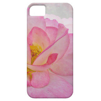 Pink Victorian Rose iPhone SE/5/5s Case