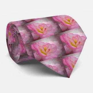 Pink Victorian Rose Tie