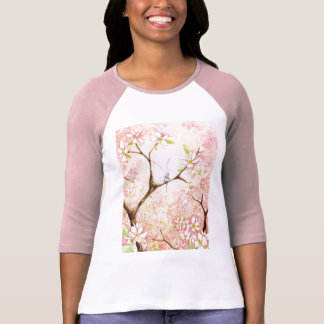 Pink View Blossom Tee Shirt