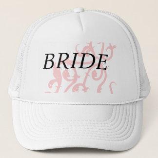 pink vine trucker hat