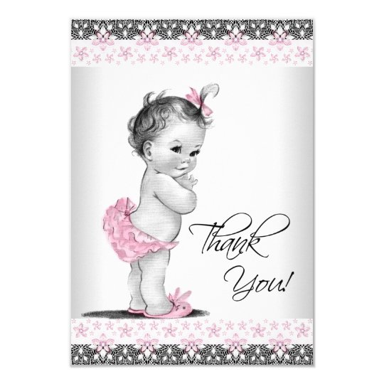 Baby Girl Thank You Cards Urgup Kapook Co