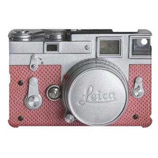 Pink Vintage Camera  iPad Mini Case