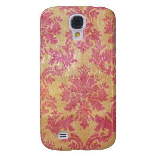 Pink Vintage Damask Samsung S4 Case