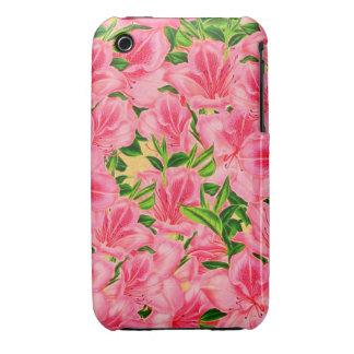 Pink Vintage Flowers iPhone 3 Case