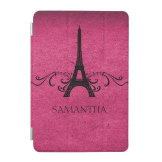 Pink Vintage French Flourish iPad Mini Cover