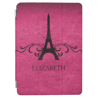 Pink Vintage French Flourish iPad Air Cover