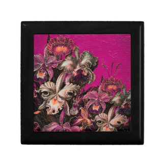 Pink Vintage Oil Brush Painting Gift Box