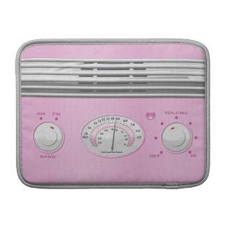 Pink Vintage Radio MacBook Air Sleeve