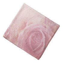 Pink Vintage Roses Bandana
