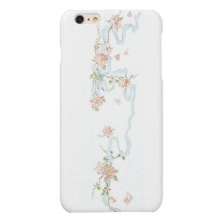 Pink Vintage Roses Matte iPhone 6 Plus Case