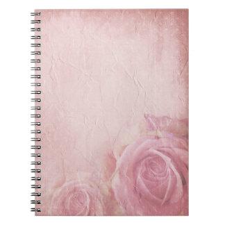 Pink Vintage Roses Notebook
