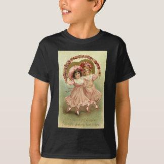 Pink Vintage Valentine's Day Friendship T-Shirt