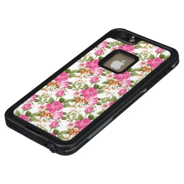 Pink Vintage Victorian rose iPhone 6/6s plus case