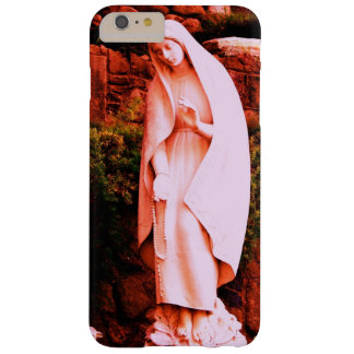 Pink Virgin Mary Statue Barely There iPhone 6 Plus Case