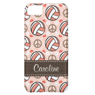 Pink Volleyball iPhone 5C Cases