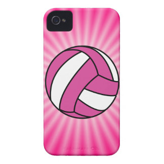 Pink Volleyball Case-Mate iPhone 4 Case