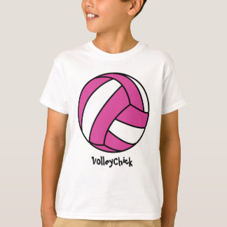 Pink Volleyball (customizable) T-Shirt