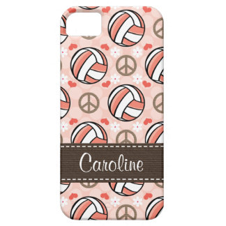 Pink Volleyball iPhone 5 Case