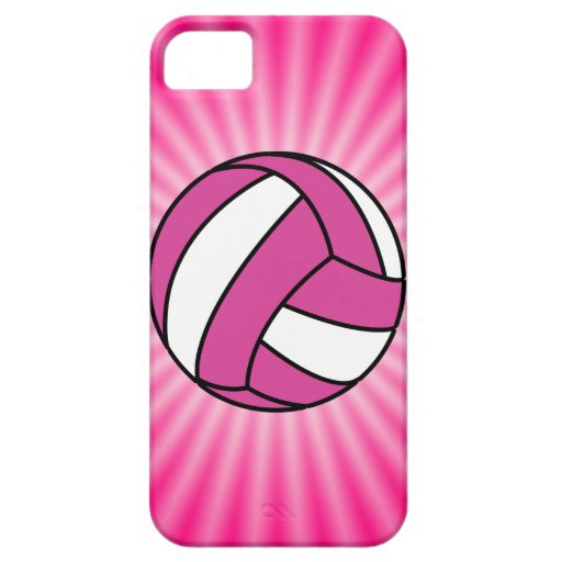 Pink Volleyball iPhone SE/5/5s Case