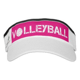 Pink Volleyball Sport Sun Visor