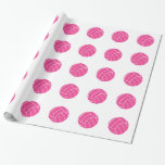 Pink Volleyball Wrapping Paper