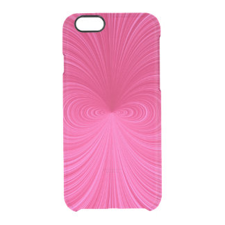 Pink Vortex Uncommon Clearly™ Deflector iPhone 6 Case