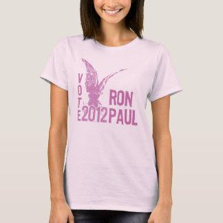 Pink Vote 2012 Ron Paul T-Shirt