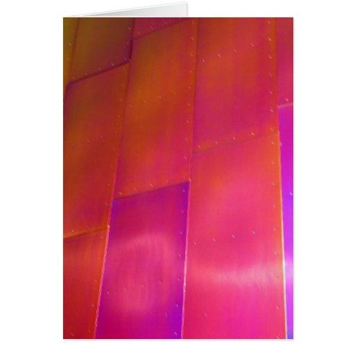 Pink Wall Card