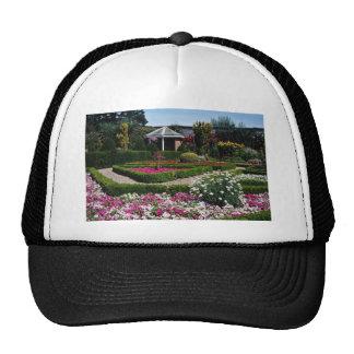 Pink Walled garden, Sewerby, Britain flowers Trucker Hat