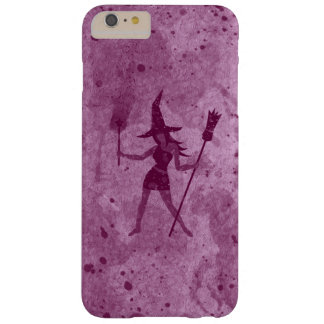 Pink Wand Witch Barely There iPhone 6 Plus Case