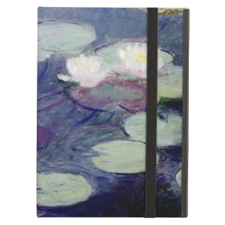 Pink Water-Lilies: 1897-99 by Monet Cover For iPad Air