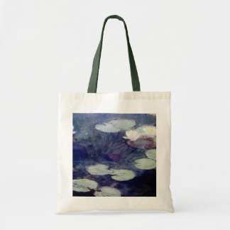 Pink Water-Lilies: 1897-99 by Monet Tote Bag