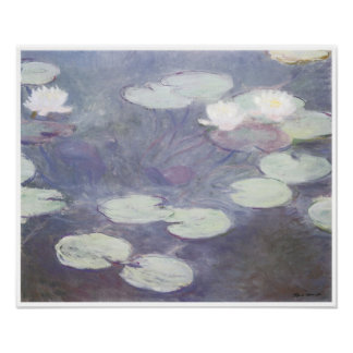 Pink Water-Lilies, 1897-99 Poster