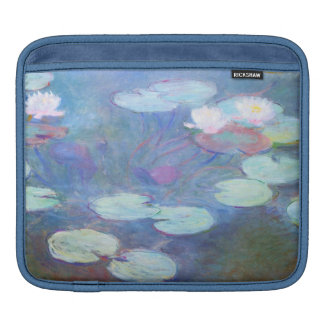 Pink Water Lilies Claude Monet GalleryHD Sleeve For iPads