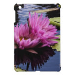 Pink Water Lilies Flower Photo Cover For The iPad Mini