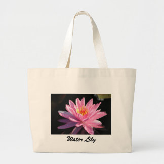 Pink Water Lily Bag
