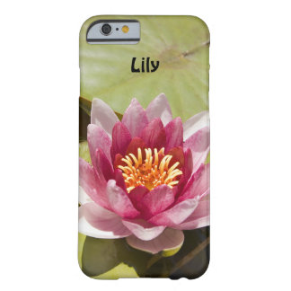 Pink Water Lily Barely There iPhone 6 Case