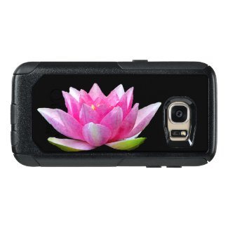 Pink Water Lily Lotus OtterBox Galaxy S7 Case