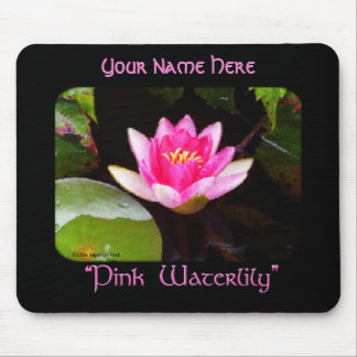 Pink Water lily Mouse Pad