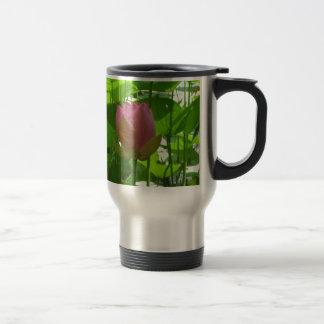 Pink Water Lily - Now Opening Travel Mug
