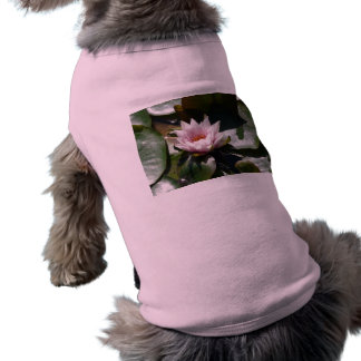 pink water lily shirt