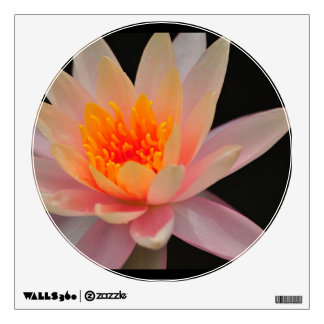 Pink Water Lily Wall Sticker