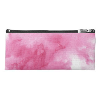 pink watercolor background for your pencil case