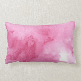 pink watercolor background for your throw pillows