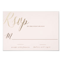 PINK WATERCOLOR FLOWER wedding invitation cards