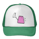 Pink Watering Can Gardening Tshirts and Gifts Mesh Hat